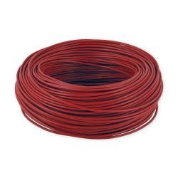 Mercor Przewód linka H07V-K LgY 0,5mm² 500V czerwony rolka 100mb