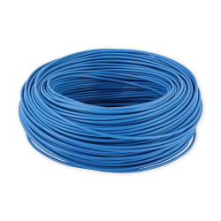Mercor Przewód linka H07V-K LgY 0,5mm² 500V niebieski rolka 100mb