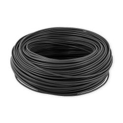 Mercor Przewód linka H07V-K LgY 0,5mm² 500V czarny rolka 100mb