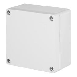ELEKTRO-PLAST INDUSTRIAL Puszka elektroinstalacyjna PRZEMYSŁOWA natynkowa IP65 jasnoszara 2701-00