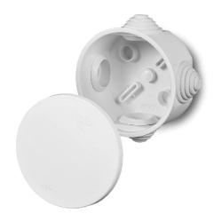 ELEKTRO-PLAST Puszka elektroinstalacyjna FAST-BOX odgałęźna natynkowa IP55 biała 0240-00
