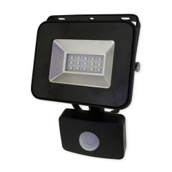 BEMKO Naświetlacz wodoodporny IP65 LED 10W 230V z CZUJNIK RUCHU barwa zimna