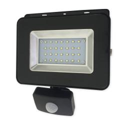 BEMKO Naświetlacz wodoodporny IP65 LED 20W 230V z CZUJNIK RUCHU barwa zimna