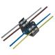 ELEKTRO-PLAST Płytka odgałęźna, 4-torowa, 4 mm² 0952-00