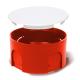Elektro-Plast Puszka elektroinstalacyjna podtynkowa płytka z pokrywą PO-70 PRO 10 szt.