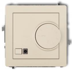 DECO Regulator temperatury elektroniczny z czujnikiem powietrznym beżowy 1DRT-2