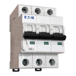 EATON Wyłącznik nadprądowy 3P C63A 6kA CLS6-C63/3-DP 270426